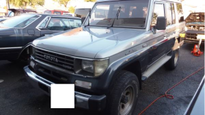 1992 toyota land cruiser prado lj78 lj78g ex 4wd 2.4 diesel for sale in japan 187k
