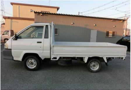 2002 toyota townace pickup truck 1 ton long km 75 for sale japan 69k-1