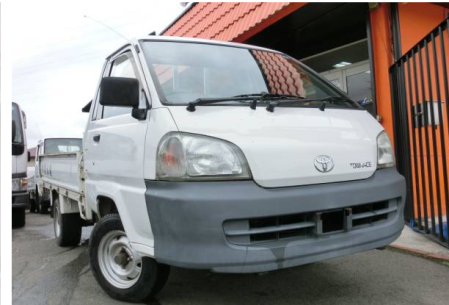 2002 toyota townace pickup truck 1 ton long km 75 for sale japan 69k