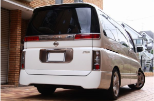 2003 nissan elgrand 3.5 e51 vq35 vq35de  for sale in japan 101k-1 highway star (1) minivan