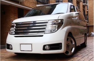 2003 nissan elgrand 3.5 e51 vq35 vq35de  for sale in japan 101k-2 highway star minivan (2)