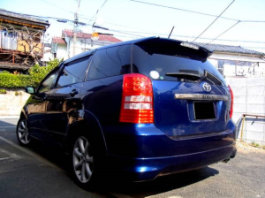 2003 toyota wish z grade edition 2.0 for sale in japan ane11 ane11w 90k-1