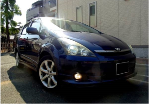 2003 toyota wish z grade edition 2.0 for sale in japan ane11 ane11w 90k
