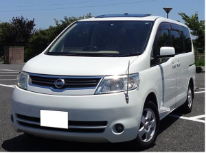 2005 nissan serena 2.0 c25 20g for sale in japan 125k