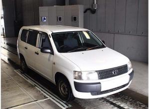 2007 toyota prpbox van nlp51v DX confort package 1.4 diesel for sale in japan