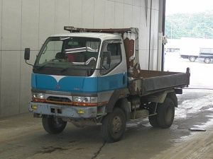 1995 mitsubishi fuso 4wd dump truck tipper fg538 fg538bd engine 4d35 for sale in japan 131k