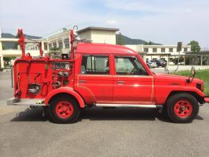1997 toyota land cruiser 4.2 diesel hzj75 for sale in japan 7300km 4.2l
