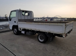 nhr69 isuzu elf flat truck japan