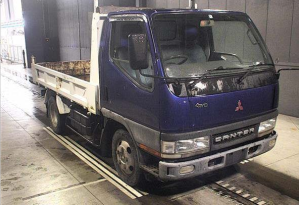 2001 mitsubishi fuso canter fg 50 ebd fg50 5.2 diesel 4wd 4x4 truck for sale in japan