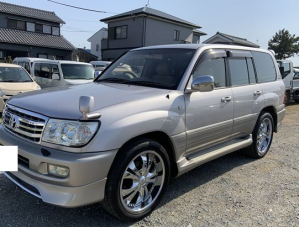 2002 toyota land cruiser uzj100 uzj 100 4.7 vx limited 4wd for sale in japan