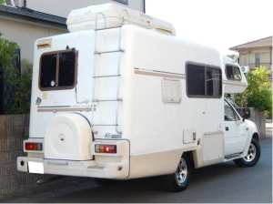 1990 isuzu rodeo campervan camper motorhome tfs55h 2.8 diesel for sale in japan 65k-1