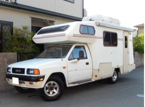 1990 isuzu rodeo campervan camper motorhome tfs55h 2.8 diesel for sale in japan 65k