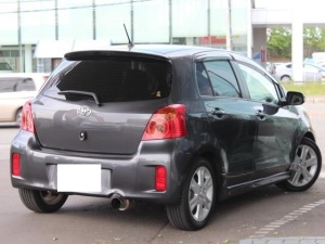 2008 toyota vitz rs trd turbo m ncp91 1.5 for sale in japan 26k-1