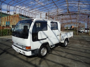 1994 nissan atlas double cab cabin truck td27 for sale in japan used japanese 75k