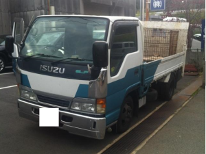 1997 isuzu nkr 71 nkr71 nkr71ea with power gate ruck diesel for sale in japan 190k