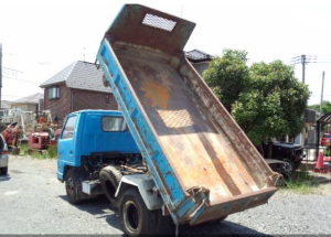 1987 isuzu elf 2 ton nkr58ed nkr 58 tipper dump truck 250 for sale in japan 142k-1