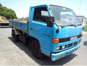 1987 isuzu elf 2 ton nkr58ed nkr 58 tipper dump truck 250 for sale in japan 142k