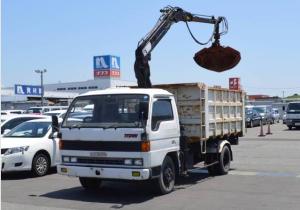 1991 mazda titan truck crane dump tipper for sale japan 160k 4.0 diesel