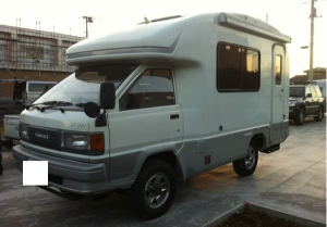 1991 toyota townace campervans cm65 for sale in japan 4wd 89k
