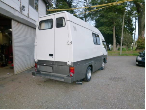 1995 mitsubishi fuso canter camper campervans 308b 2.8 diesel for sale japan 18k-1