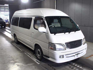 2001 toyota hiace camper van for sale in japan