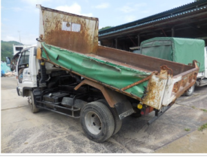 1993 isuzu forward juston dump truck tipper NRR32CD 7.1 diesel for sale in japan 220k-1