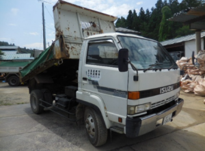 1993 isuzu forward juston dump truck tipper NRR32CD 7.1 diesel for sale in japan 220k