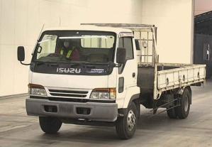 1996 isuzu forward juston nrr33h1g nrr 33 nrr33 8220cc diesel flat truck for sale in japan