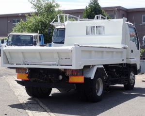 isuzu nrr35c3 dump truck for sale in japan