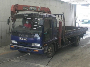 1998 isuzu forward frr33 crane boom truck for sale in japan