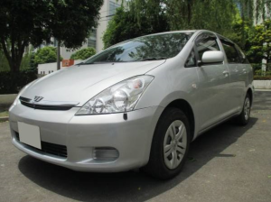 2004 toyota wish x 1.8 zne14g for sale japan 77k