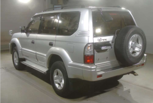 2008 land cruiser kdj95w tz japan