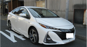 2017 toyota prius phv 1.8 for sale in japan