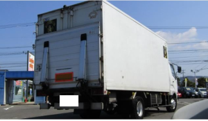 mutsubishi fuso fighter refrigerator freezer truck fh71hg for sale in japan