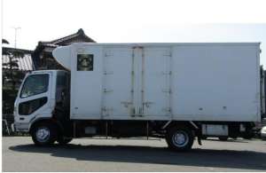 mitsubishi fuso fighter truck refrigerator freezer for sale japan