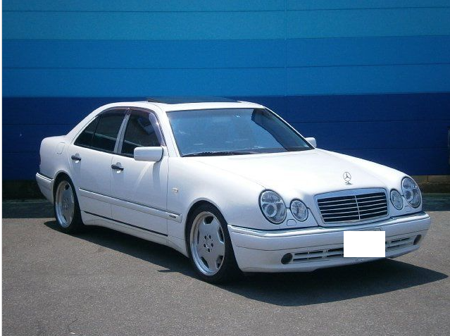 Mercedes benz e55 amg 1998 for sale in japan jpn car for Mercedes benz e55 amg wagon for sale