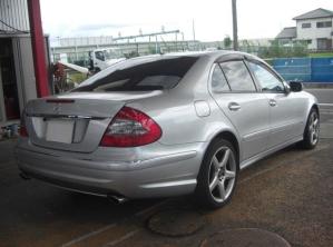 e550 Mercedes benz japan