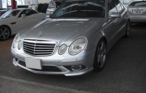 2006 mercedes benz e550 for sale in japan