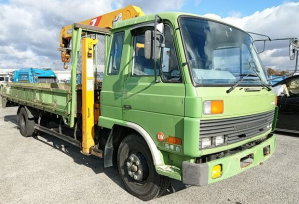 1987 nissan diesel ud cm87 cm 87 crane 6.9 MT manual for sale in japan