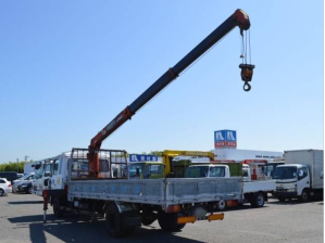 1990 Nissan uD condor cm87 crane boom truck for sale in japan