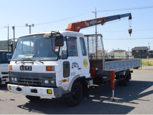 1990 nissan ud condor cm87 crane boom trucks for sale in japan