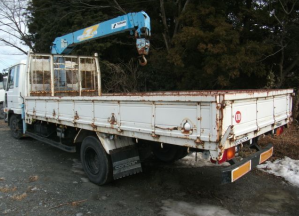 Nissan ud condor cm87he crane boom truck for sale japan