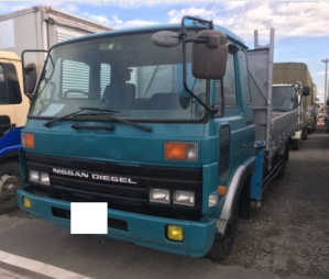 1991 nissan diesel condor cm87 cm87fe 6.9 u-cm87fe with tadano crane boom truck for sale in japan