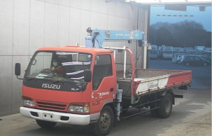 npr71 crane trucks for sale in japan