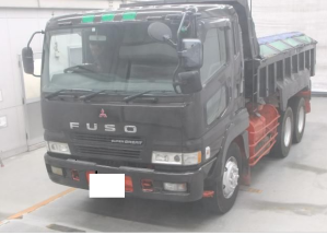 mitsubishi super great fv 511 tipper for sale in japan