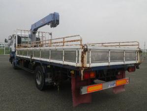 mk252 nissan crane boom truck
