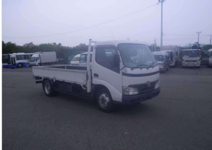 2008 toyota dyna flat xzu344 truck for sale in japan
