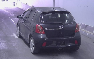 toyota vitz yaris ncp91 vvti rs  sports for sale in japan