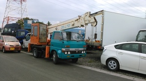 isuzu boom crane truck for sale in japan