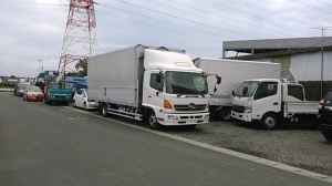 Used Hino wing trucks for sale in japan